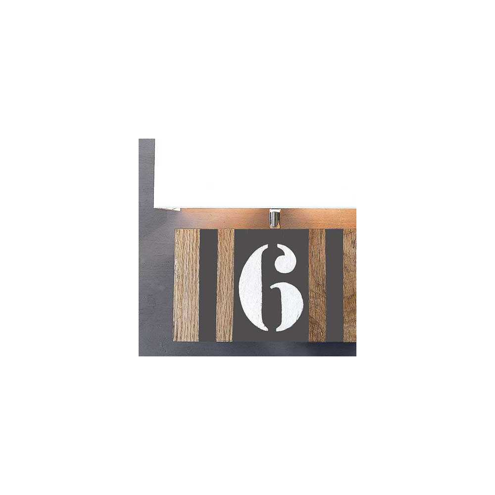 applique bois personnalisable taupe. Black Bedroom Furniture Sets. Home Design Ideas