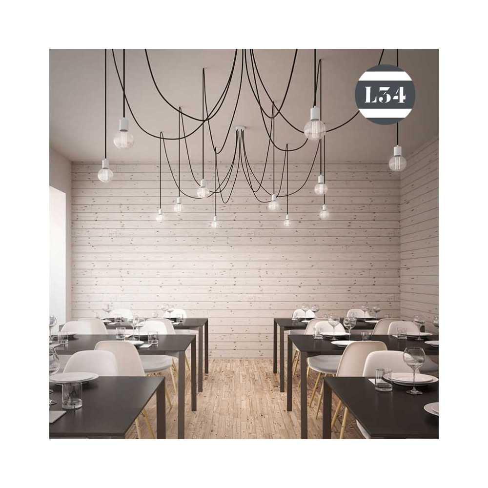 Emejing grande lampe de salon photos design trends 2017 for Grande suspension luminaire