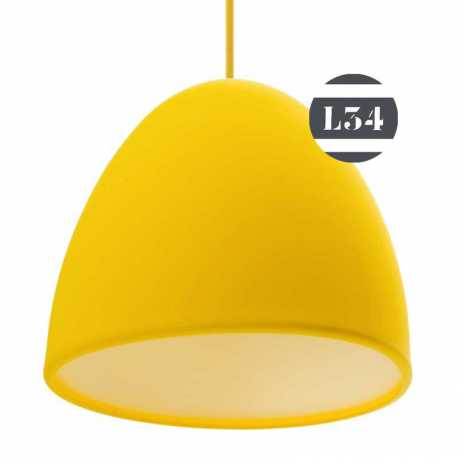 luminaire jaune silicone