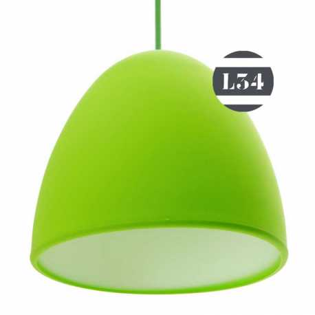 Suspension silicone verte