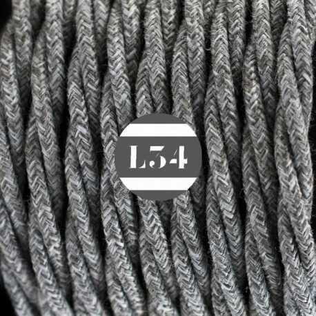 fil électrique torsadé coton