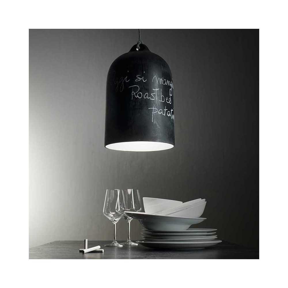 Luminaire cuisine effet tableau noir - Tableau noir cuisine ...