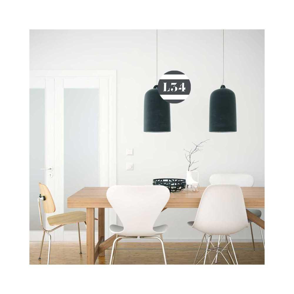 luminaire cuisine effet tableau noir. Black Bedroom Furniture Sets. Home Design Ideas