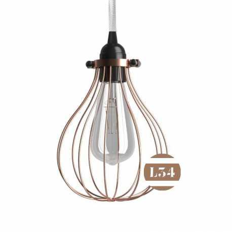 lampe fouet cuivre