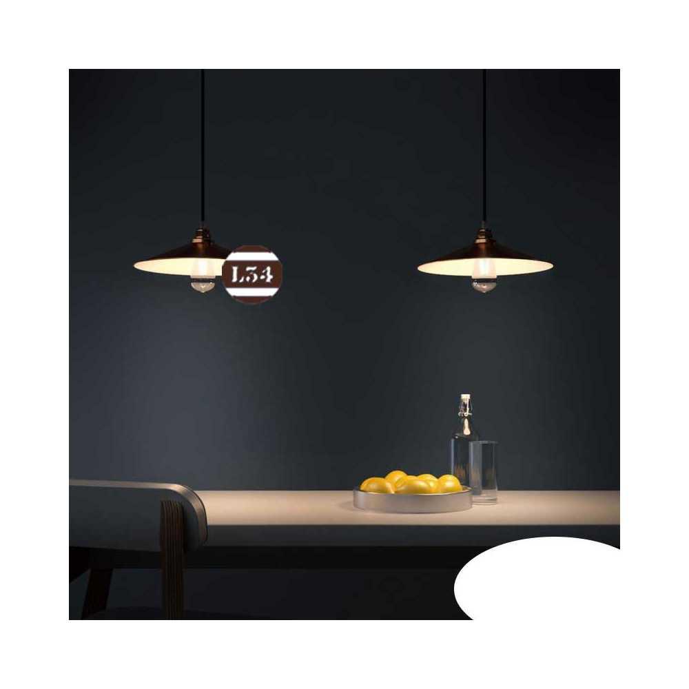suspension plate cuivre int rieur blanc. Black Bedroom Furniture Sets. Home Design Ideas