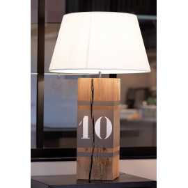 Grande lampe taupe Up Xl