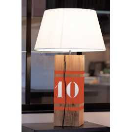 Grande lampe orange Up Xl