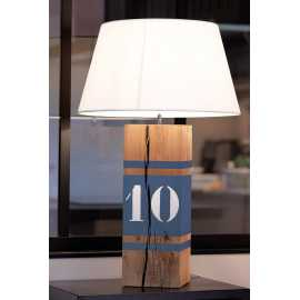 Grande lampe gris bleu Up Xl
