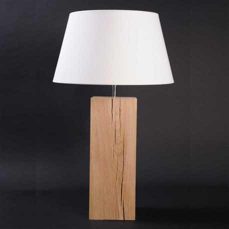 Grande lampe chêne brut Up Xl