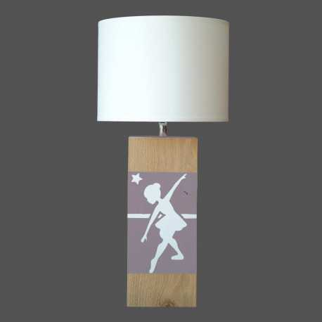 Lampe enfant UP S danseuse taupe