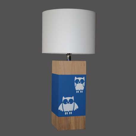 Lampe enfant UP S hibou bleu nuit
