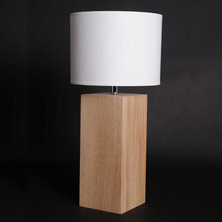 Lampe Up S chêne brut